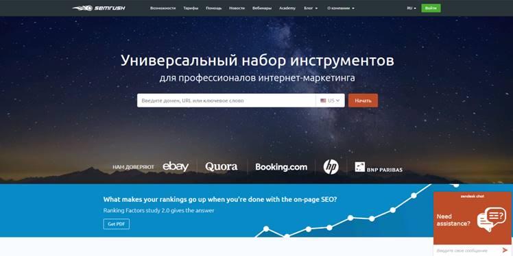 сайт semrush обзор