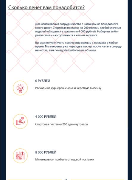 """Блок """"Ресурсы"""" в КП на поставку товара"""