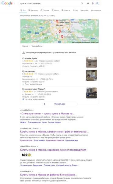 Пример сайтов со статейным продвижением