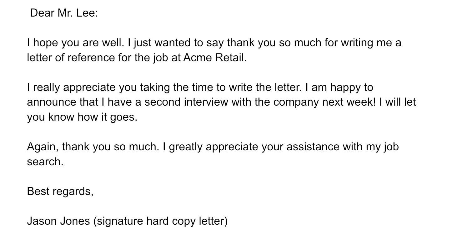 Благодарность компании, бывшему работодателю. Пример на английском языке